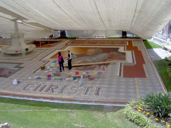 Sandteppich La Orotava 2008