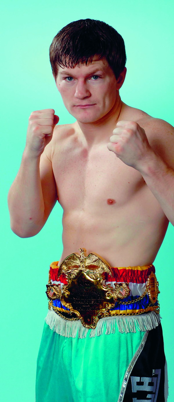 Ricky will be ex­pected to triumph in his next bout on May 24th