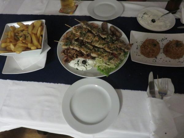 Griechisch gestärkt zum kanarischen Jahreswechsel.