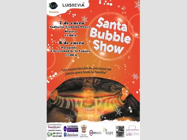 Santa Bubble Show
