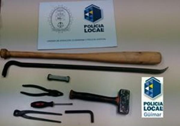 Was hatte der Verdächtige mit den sichergestellten Werkzeugen vor?