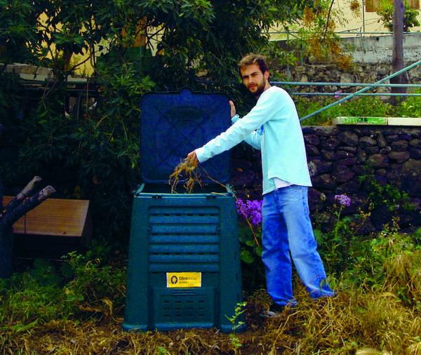70 Komposter wurden auf Gran Canaria, Lanzarote und Fuertventura kostenlos verteilt