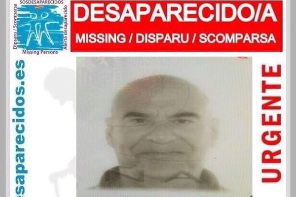 Remigio Manuel Díaz aus La Cuesta in La Laguna wird vermisst.