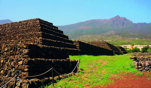 Die Pyramiden in Güímar entführen den Besucher in abenteuerliche Welten