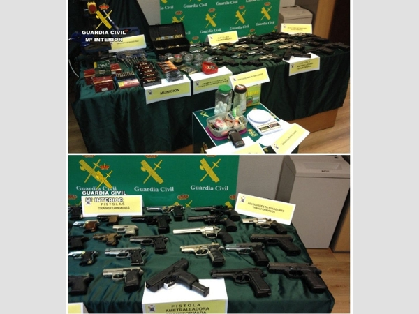 Festnahmen von Waffenschiebern, ausgehobene Werkstätten, beschlagnahmte Waffen – eine durchaus sehenswerte Bilanz.