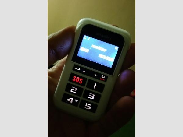 Ein kleines und handliches Gerät, das im Notfall ein großer Helfer ist und viel Sicherheit gibt.