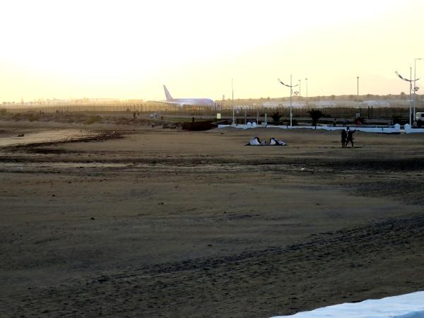 Auf dem Flughafen von Lanzarote wurde der falsche Italiener bereits erwartet.