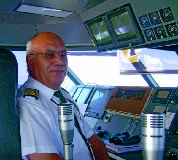Kapitän Peraza García fährt seit mehr als 40 Jahren zur See