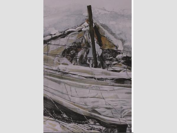 Ausstellung der Malerin Claudia Traub.
