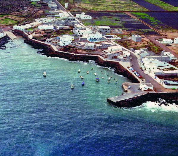 Der Hafen von Órzola im Norden von Lanzarote wird derzeit vergrößert