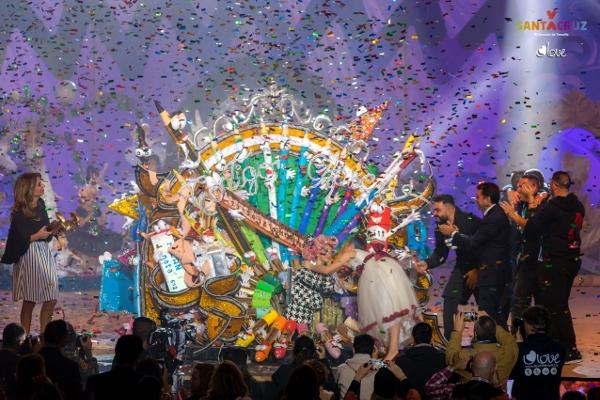 Eine strahlende Siegerin: Königin Amaia von Santa Cruz
