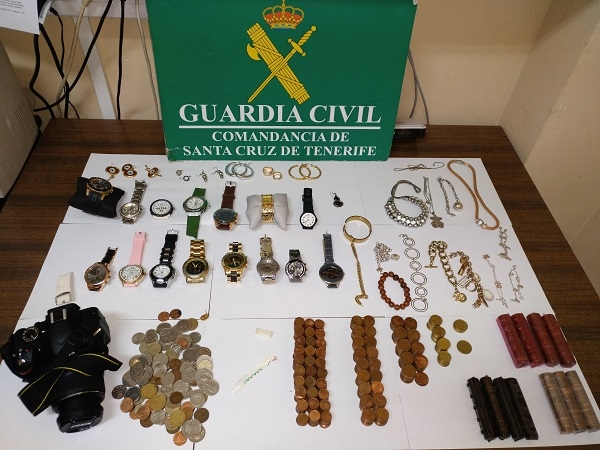The stolen valuables were recovered and returned to the woman