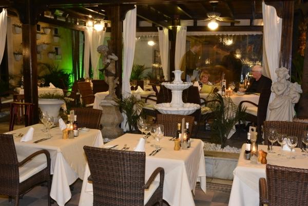 """Im """"Garibaldi"""" herrscht ein elegantes und modernes Ambiente."""