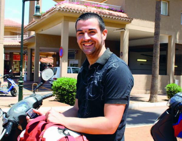 Jorge Marcos, Los Cristianos