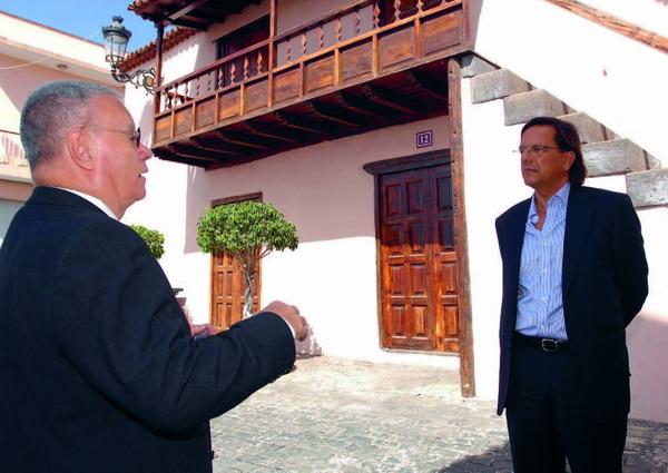 Die Casa de Segundino Delgado in Arafo