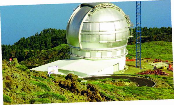 Das Gran-Telescopio-Canarias (GTC) ist das größte und technologisch fortschrittlichste Nachtteleskop der Welt