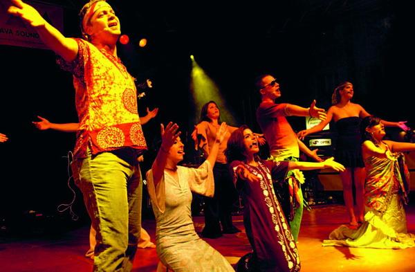 Erlebnis für Akteure und Zuschauer: eine Musical-Aufführung