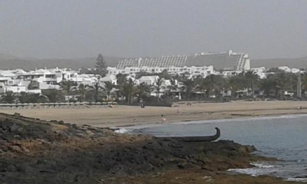 So zeigte sich der Calima bereits am Mittwoch auf Lanzarote.