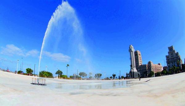 Am 24. Juli wird die neue Plaza de España offiziell eingeweiht