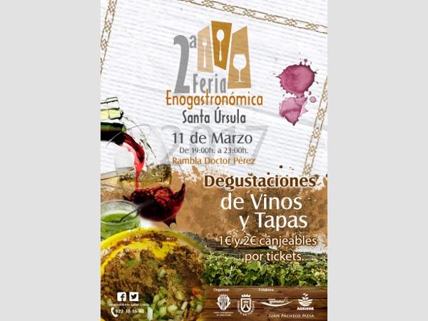II. Wein- und Gastromesse in Santa Úrsula