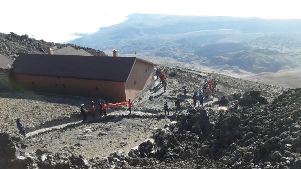 Rettungsaktion auf dem Teide abgeschlossen.