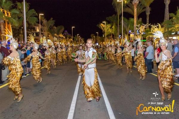 Karneval in Los Cristianos (Archivbild).