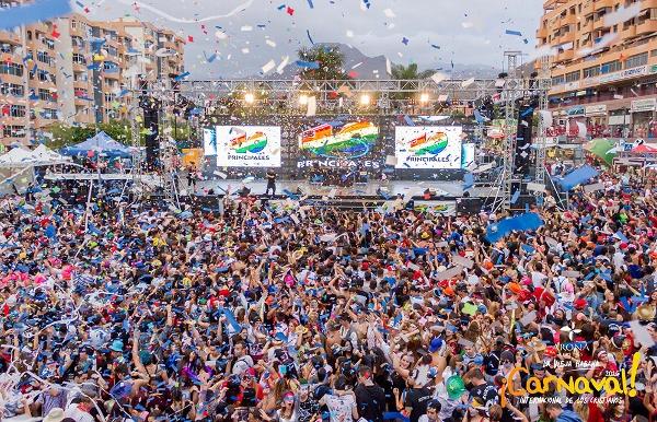 Der Carnaval del Día mobilisiert noch einmal alle Närrinnen und Narren.
