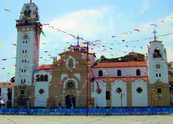 Candelaria ist der bedeutendste Wallfahrtsort Teneriffas