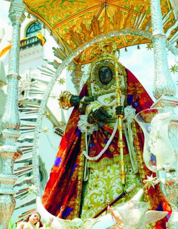 Die schwarze Madonna von Candelaria