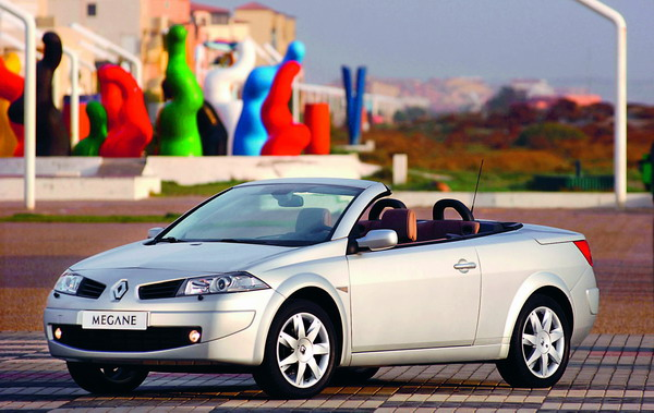 Stylish by design, brilliant by nature - that's how Renault describes its Megane Coupé Cabriolet.