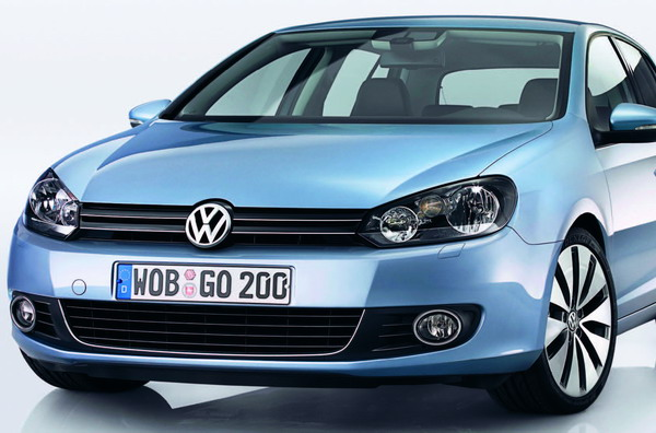 At first sight, you can see that the new Golf has a strong personality.
