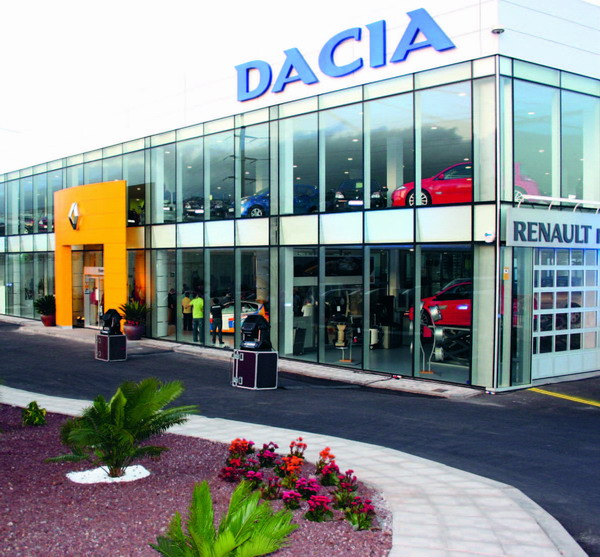 The new Comercial Igara Renault Dacia showrooms in Acorán