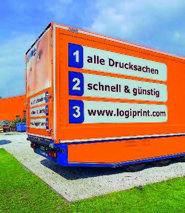 In Deutschland bestellen die Kunden unter www.logiprint.com