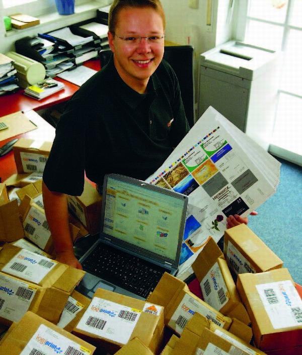 Bei Logiprint kann man verschiedene Drucksachen online kaufen