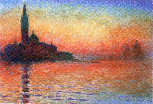 Claude Monet, Abendstimmung in Venedig, 1908 (Bridgestone Museum of Art, Tokio)