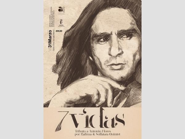Antonio Flores war ein sehr breit aufgestellter Künstler, Musiker und Schauspieler.