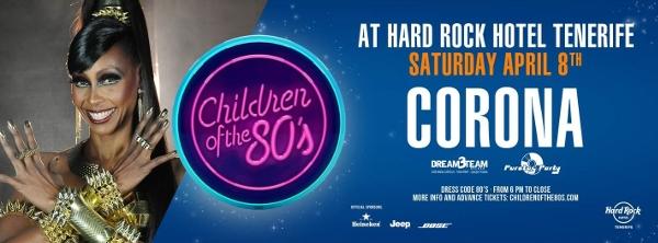 "Children of the 80's – 80er-Jahre-Party mit ""Corona"""