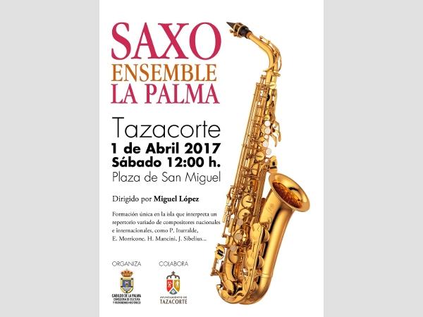 Saxofonkonzert in Tazacorte