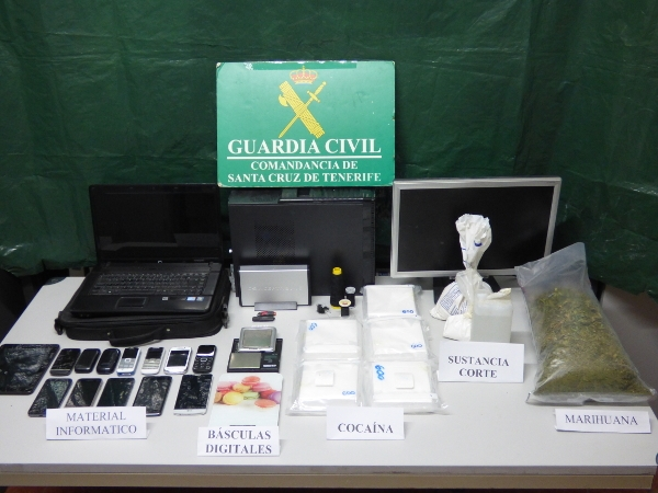 Drogenfund auf La Palma.