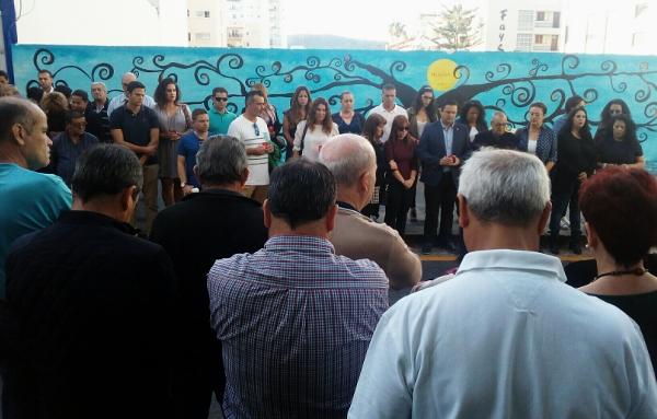 Ein Zeichen der Solidarität und Anteilnahme für die hinterbliebenen Familienangehörigen. Die Tragödie hatte viele Menschen erschüttert.