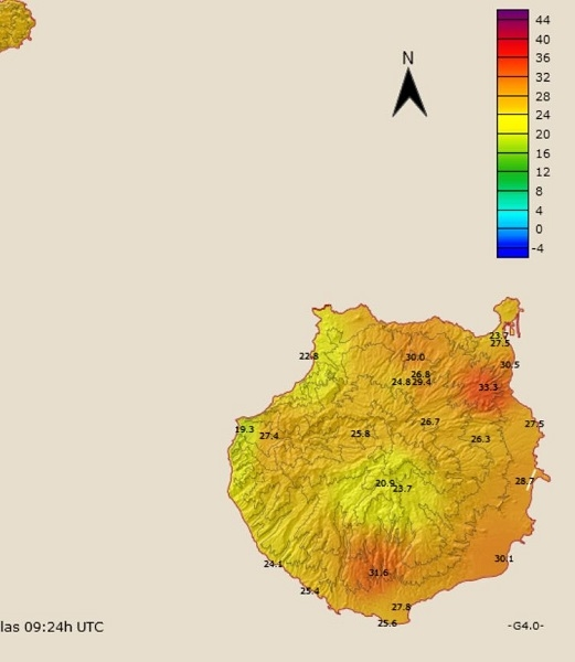 Hotspots in Gran Canaria