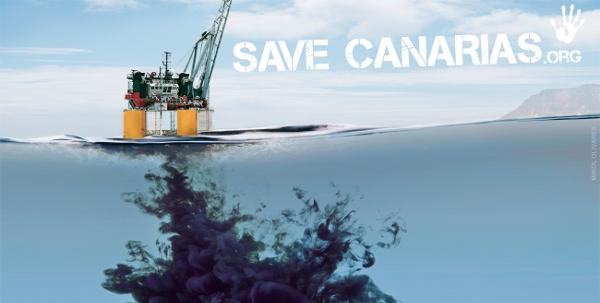 Die Canarios wehrten sich von Anfang an gegen die drohende Verschmutzung ihres Meeres.