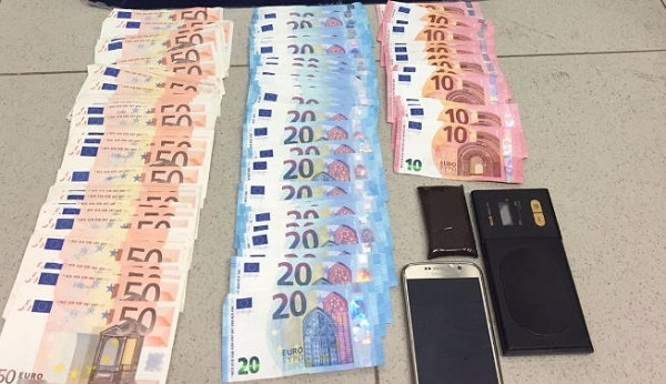 Drugs, cash and mobile phones were seized