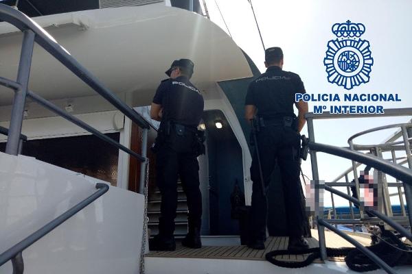 Der Party an Bord eines gemieteten Bootes wurde ein Ende gesetzt.