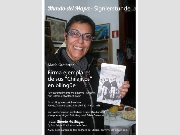 """María Gutiérrez bei """"Mundo del Mapa"""""""