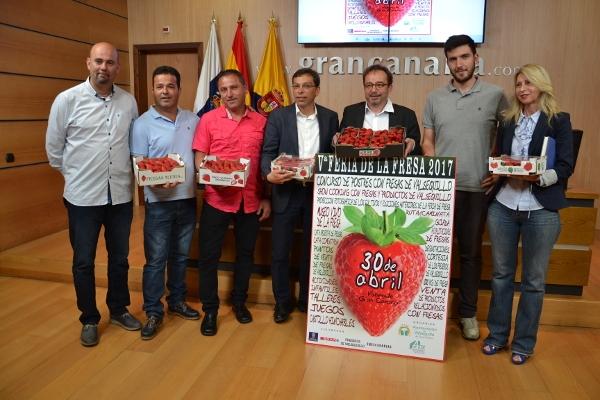 Ein echt süßes Früchtchen – die Erdbeere aus Valsequillo.