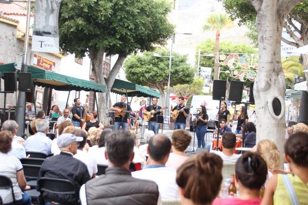 """Die Gruppe """"El Mesturao"""" ist der Gastgeber des Festivals."""