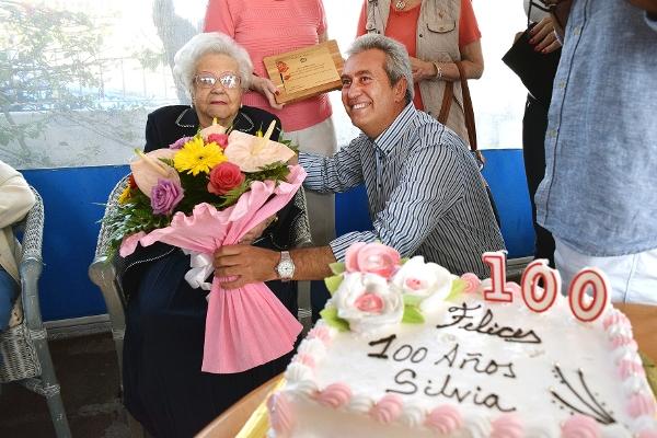 Ein richtig runder Geburtstag – Silvia wurde 100.