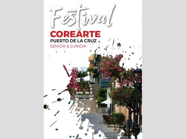 """Festival der Chormusik """"Corearte"""" in Puerto de la Cruz."""