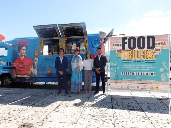 Food Trucks laden zum Schlemmen, die Livemusik zum Feiern ein.